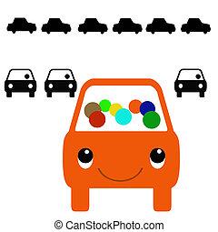 γραφικός , carpool