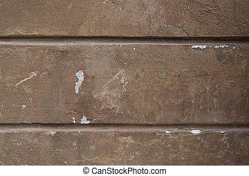 γριά , άγαρμπος εξωτερικός τοίχος οικοδομής