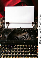 γριά , δακτυλογραφώ , συγγραφέαs