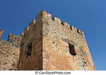 γριά , πέτρα , κάστρο , πύργος