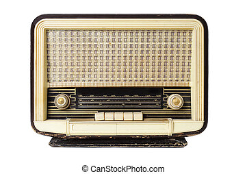 γριά , ραδιόφωνο , δέκτης