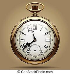 γριά , ρολόι