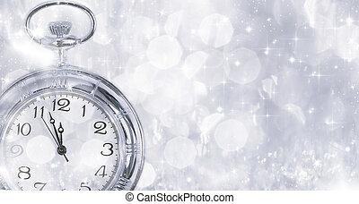γριά , ρολόι , - , μεσάνυκτα , έτος , πνεύμονες ζώων , ...
