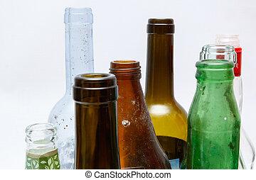 γυαλί , ανακύκλωση , δέμα