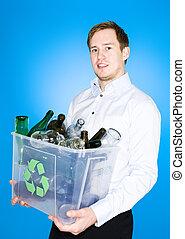 γυαλί , ανακύκλωση