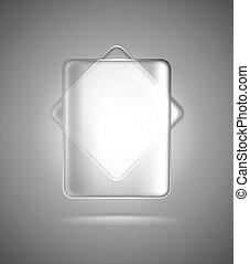 γυαλί , ορθογώνια , διαφανής