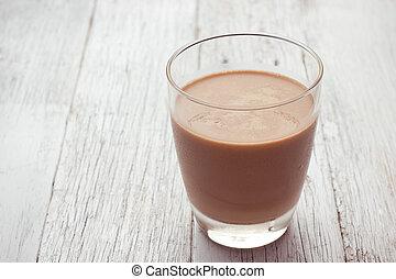 γυαλί , σοκολάτα