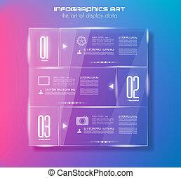 γυαλί , infographic, σχεδιάζω , φόρμα , surfaces.