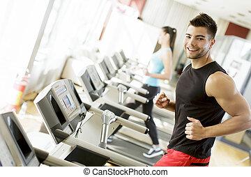 γυμναστήριο , νέοs άντραs