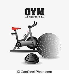 γυμναστήριο , design.