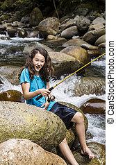 γυμνόποδος , ψάρεμα