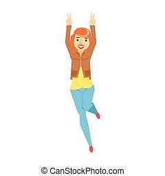 γυναίκα , άνθρωποι , μεθυσμένος , έχει , κοκκινομάλλης , πάρτυ , αστείο , σειρά , τμήμα , κοντόχονδρος , αστείος , χορός