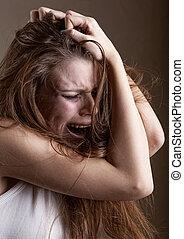 γυναίκα αλαλαγμός