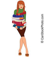 γυναίκα αμπάρι , γελοιογραφία , νέος , θημωνιά , αγία γραφή