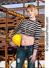 γυναίκα , δομή δουλευτής