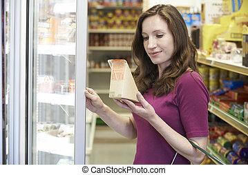 γυναίκα , εξαγορά , σάντουιτs , υπεραγορά