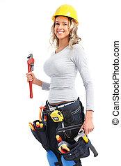 γυναίκα , εργάτης