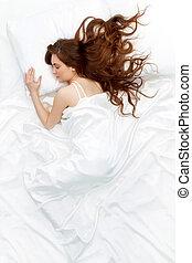 γυναίκα , κοιμάται