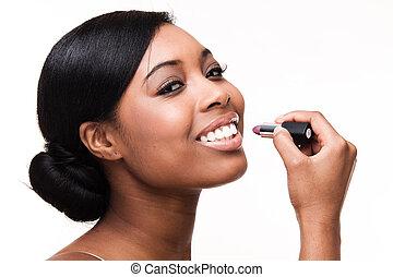 γυναίκα , μαύρο , αφρικανός