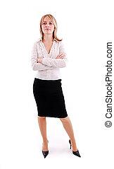 γυναίκα , νέος , επιχείρηση