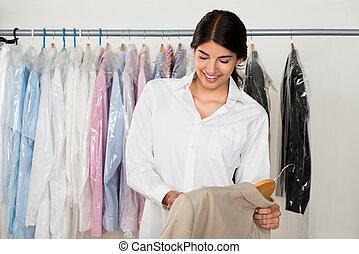γυναίκα , νέος , κατάστημα , ρούχα