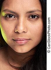 γυναίκα , νέος , headshot