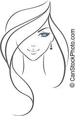 γυναίκα , ομορφιά