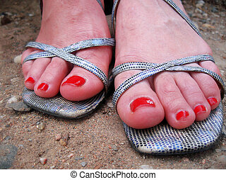 γυναίκα , πόδια , ακάθιστος , ακάθιστος , αναμμένος άρθρο αγγαρεία