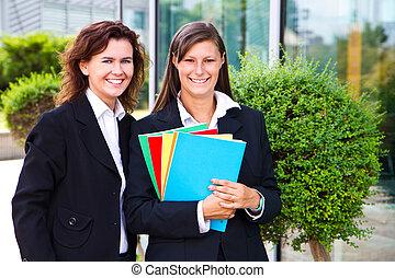 γυναίκα , σημειωματάριο , έγχρωμος , φοιτητόκοσμος