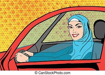 γυναίκα , τέχνη , αυτοκίνητο , μουσελίνη , κρότος , μικροβιοφορέας