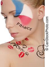 γυναίκα , τέχνη , ζεσεεδ , γοητευτικός , θέμα , γαλλία