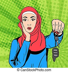 γυναίκα , τέχνη , κλειδιά , μουσελίνη , κρότος , μικροβιοφορέας