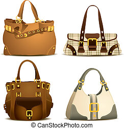 γυναίκα , τσάντα , συλλογή