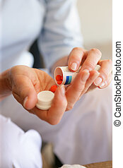 γυναίκα , φαρμακευτική αγωγή