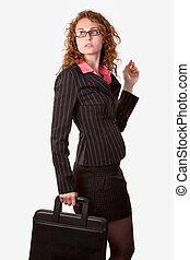 γυναίκα , χαρτοφύλακας , επιχείρηση