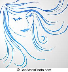 γυναίκα , όμορφος