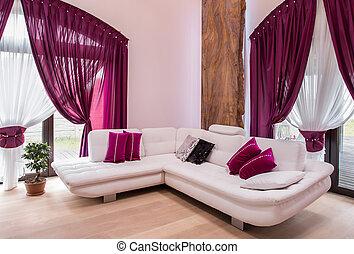 γωνία , αγαθός καναπές