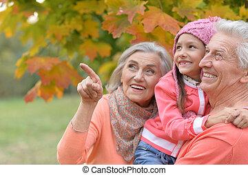 δάκτυλο , γιαγιά , στίξη