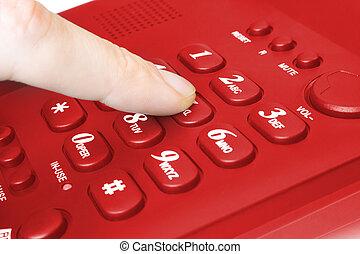 δάκτυλο , keypad