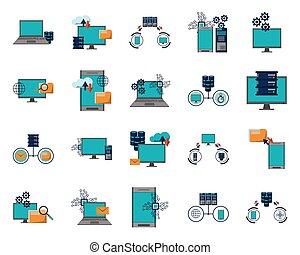δέμα , απεικόνιση , δεδομένα , πληροφορία , κέντρο , μεταφέρω