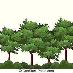 δέντρα , και , θάμνοι