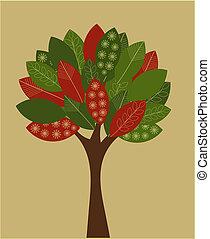 δέντρο , δημιουργικός