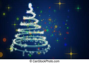 δέντρο , εικόνα , θαυμάσιος , σχεδιάζω , αστέρας του κινηματογράφου , xριστούγεννα