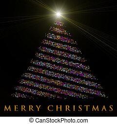 δέντρο , εικόνα , πνεύμονες ζώων , θαυμάσιος , σχεδιάζω , xριστούγεννα