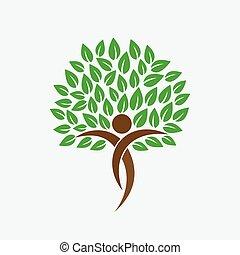 δέντρο , ζωή , μικροβιοφορέας