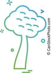 δέντρο , μικροβιοφορέας , σχεδιάζω , εικόνα