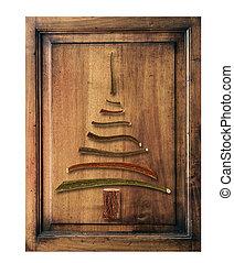 δέντρο , ξύλο , γριά , xριστούγεννα