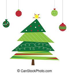 δέντρο , χριστουγεννιάτικη διακόσμηση