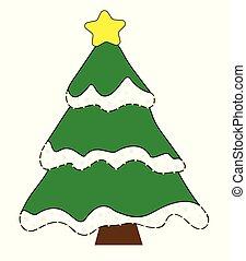δέντρο , xριστούγεννα , εύθυμος