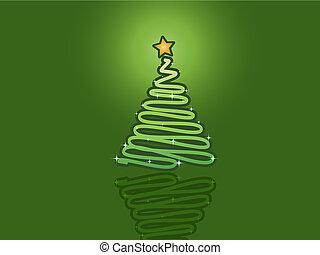 δέντρο , xριστούγεννα , φόντο